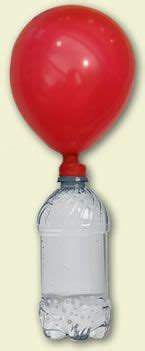 Research on baking soda and vinegar balloon